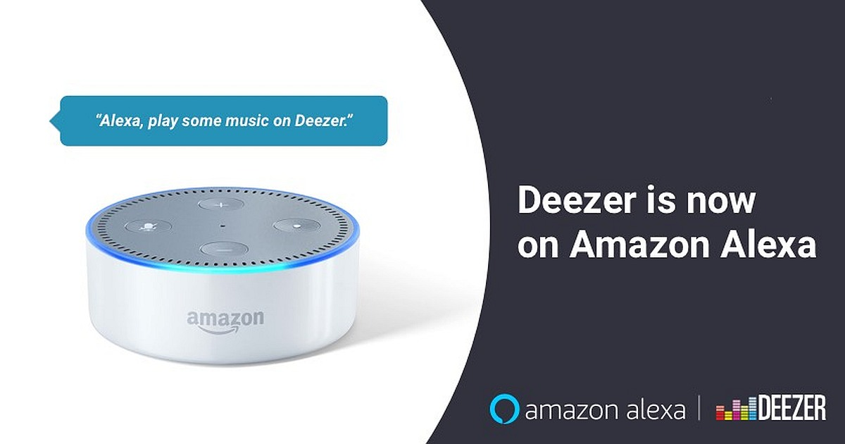 Deezer collaboration with Amazon Alexa